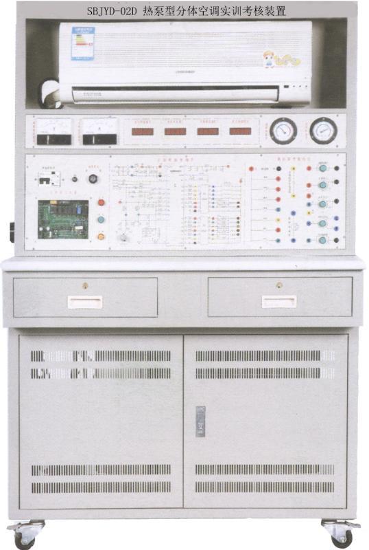 包括热泵型分体空调所必需的一些部件,如蒸发器,冷凝器,压缩机,四通图片